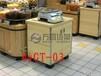 超市木质称台服务台