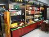 烟酒展示架木质茶叶柜酒水展架