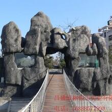 南昌西湖区假山哪里有昌盛假山经典制作图片