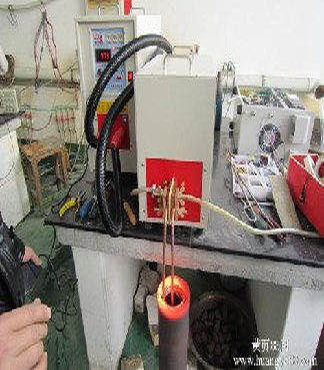 高频淬火设备各种汽车配件摩托车配件淬火加热机 -车刀焊机设备