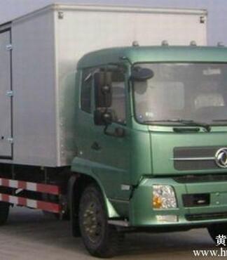 天锦10吨厢式运输车7米6厢式货车价格康明斯170马力 -厢式运输车图片