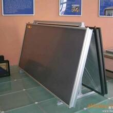 供应全铜镀黑铬平板太阳能集热器图片