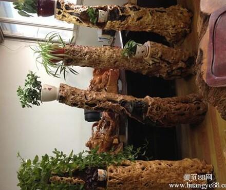 【根雕花架枣木花架实木花架家居摆件工艺品礼品_根雕花架价格|图片
