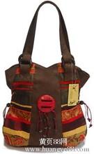 原创民族风包包民族单肩包椰美风韵包特色手提包潮女包民族包包