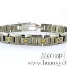 供应钛手链,镶嵌金银钛手链,批发生产,深圳工厂,金钛恋语图片