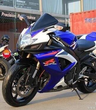 2008铃木GSX R600摩托车高清图片