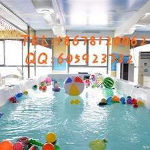 哪里购买婴儿游泳池最好的婴儿游泳馆设备安装大型儿童游泳池亚克力一体池