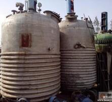 5吨外盘管式反应釜图片