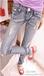 新款女装牛仔裤批发时尚牛仔厂家直销