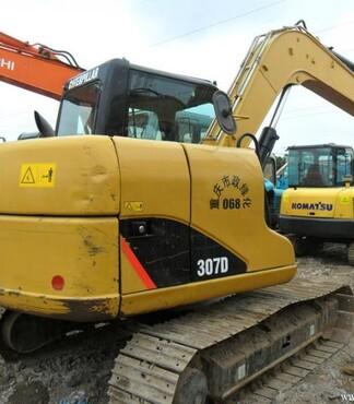 低价出售纯原装卡特307D挖掘机 全国包送 -二手挖掘机图片