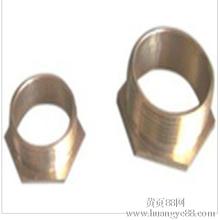 厂家低价直销热镀锌电线套管配件铜杯臣电线套管