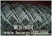 供应翔宇勾花网材料:铁丝斜纹编织丝经0.8mm孔径6mm表面处理工具镀锌