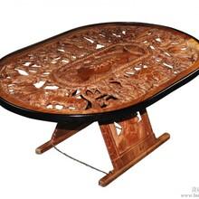 中非商贸平台供应非洲玫瑰木桌子木雕