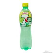 饮料批发七喜柠檬味汽水饮料