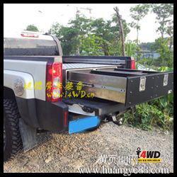 悍马H3越野车尾箱整理箱收纳箱储物箱