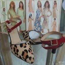 中高端外贸时尚女鞋欧美高跟鞋OEM加工定制图片