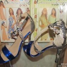 欧美时尚外贸女鞋高跟鞋工厂来样定做批发图片