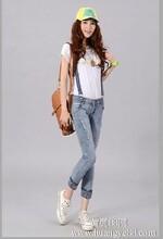 修身提臀裤批发最便宜的女式时尚牛仔裤厂家大量批发图片