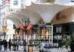 赤峰酒店入口膜结构-餐厅遮阳棚膜结构-张拉膜项目