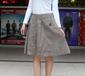 我爱我裙1003秋冬中短裙水洗纯棉加厚一件代发学院风半身裙