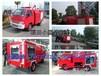 福建印刷厂厂区专用小型灭火车装水1吨