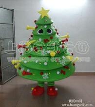 供应卡通人偶服装卡通服装卡通表演服装圣诞树