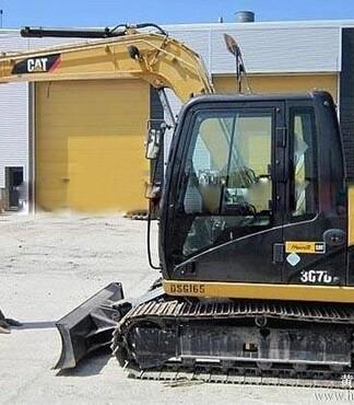 价转让二手进口卡特307D挖掘机货到付款 -卡特图片