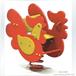 儿童摇摇乐塑料弹簧摇马室外PE板摇马儿童小鸡摇马摇摇乐
