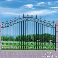 供应林周玛钢铸铁护栏球墨铸造围墙护栏合金铸造工艺图片