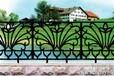 供应米林铸造工艺透景围墙护栏精密铸件艺术花件栏杆