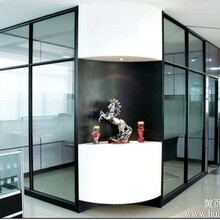 广西写字楼隔断广西高隔间铝型材广西办公室隔断铝型材