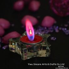 厂家批发供应彩色火焰茶蜡,适合宴会,宗教,节日活动等图片