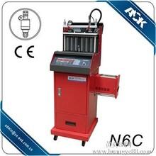 汽车喷油嘴检测分析仪超声波喷油咀清洗机电子调油压带免拆功能N6C汽车维修保养设备