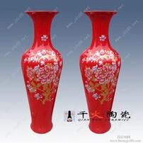 中国红花瓶图片