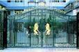 供应五台球墨铸件艺术栏杆铸铁围墙玛钢护栏艺术大门