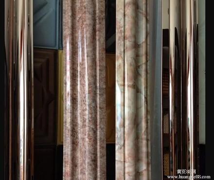 【不锈钢包边材料,钛金镜面不锈钢包边材料,不锈钢门头包边,古铜