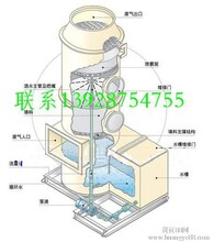 PP廢氣吸收塔設計,PP酸霧凈化塔圖片