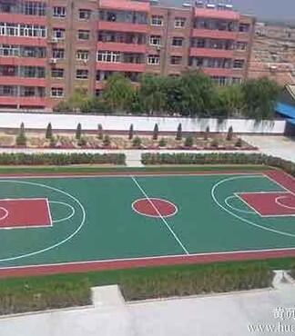 【塑胶篮球场施工_塑胶篮球场报价|图片】-黄页88网