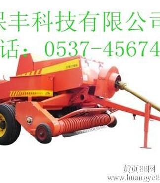 走式玉米秸秆打捆机拾草圆捆机干秸秆打捆机价格 -打捆机