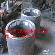 高锰钢辊筒耐磨辊子对辊粉碎机辊皮配件厂家