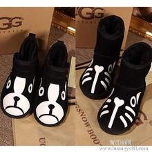 2013年UGG保暖猫狗防水防滑雪地靴子短靴1002983图片
