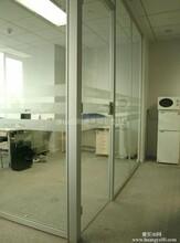 厂家直销办公高隔间铝玻璃隔断铝型材