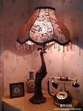 供应婚庆灯饰照明蕾丝布艺台灯生产厂家灯饰批发厂家台灯设计灯饰价格