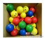 供应批发安全环保PU发泡玩具QQ表情玩具球