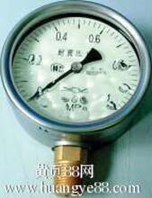 北京布莱迪YTN-100半钢充油耐震压力表+销售价格180