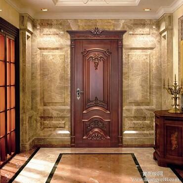 【白色室内门图片佛山门业最新款室内门装修效果示意图_佛山门业价