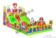 广西桂林儿童充气城堡,120平方蹦蹦床,跳跳床