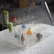 商场饰品架化妆品展架定制批发凡人优品有机玻璃展示制品