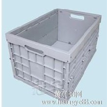 北京力王家居日用折叠储物箱600-400-295折叠箱实心底无盖
