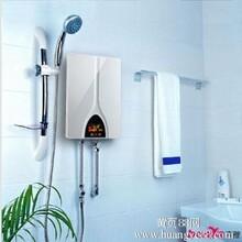 十大即热式电热水器奔雅品牌酒韵款8500W变频恒温机